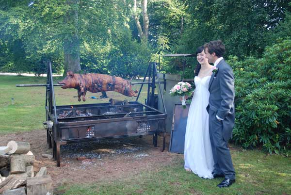 Traditional Hog Roasts for Weddings