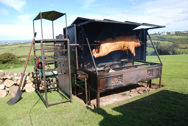 Traditional Hog Roasts in Devon and Cornwall