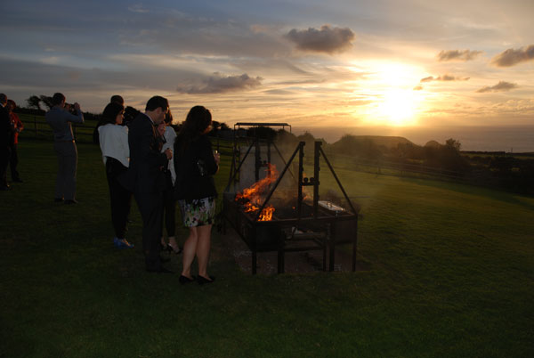 Hog Roasts for Weddings in Devon and Cornwall